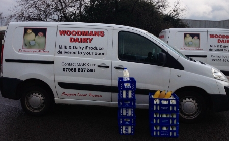 Milkman in Cardiff